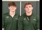 TYLER AND JACOB BROOKS (l-r) are headed to Kalamazoo for the MHSAA Individual Wrestling Finals this Friday.        		                --Courtesy Photo