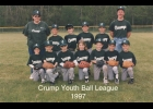 1997 Crump Youth Bobcats Ball Team