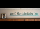 This sign was made in honor of the late Mary Ellery and is located in the Mary Ellery Administrative Center of Pinconning Area Schools. The piece was created by Pinconning alumni David L. Mayer III, of Mayer Metal Works.         			   --Courtesy Photo