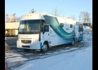 ONE OF THREE Great Lakes Bay Health Center Mobile Dental Units was in town last  Thursday to provide dental checkups to the kids attending Pinconning's  NEMCSA Head Start program.	        													        --Journal Photo